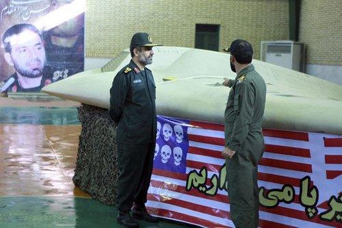 美国首次公开承认失踪无人机在伊朗并向其索要