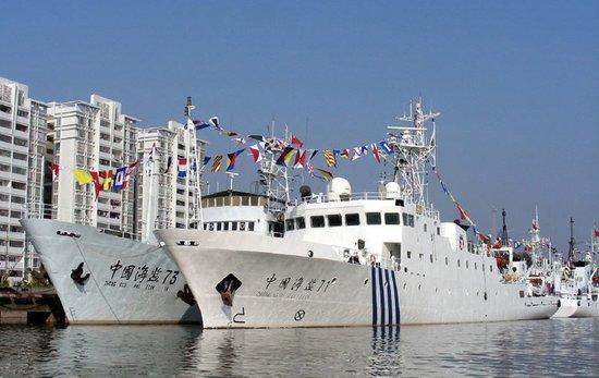 4月24日中菲舰船黄岩岛对峙情况