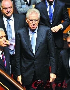 意参院通过经改法案 贝卢斯科尼最快今晚辞职