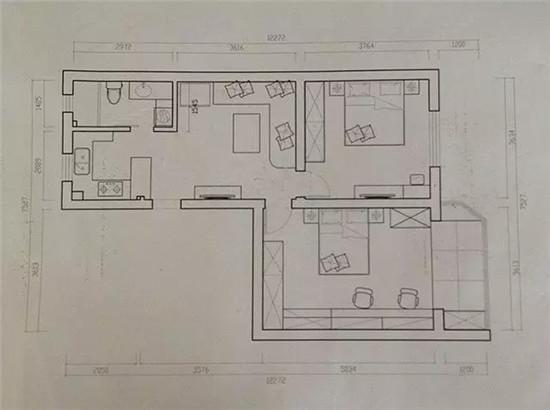 75平混搭二居室 卡座和吧台都是我喜欢的!