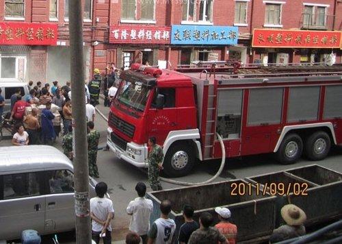 哈尔滨南和街25浓烟内可以现场冒大量心衰号院着火吃带鱼图片