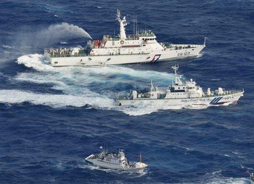 台湾外交部呼吁以和平方式处理钓鱼岛问题_
