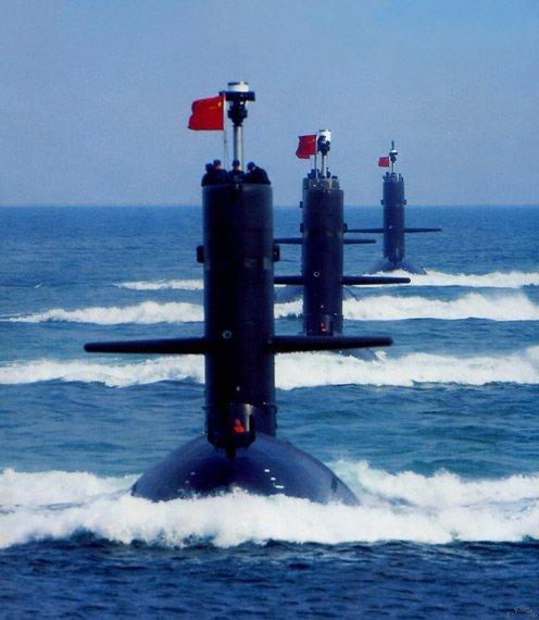 """美媒:中国以每年3艘速度部署潜艇保卫""""海权"""""""