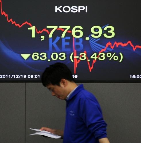 """韩国谣传""""中国将驻军朝鲜""""导致股票市场大跌"""