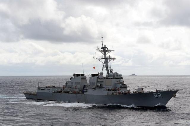 美国闯入中国领海到底为了什么?