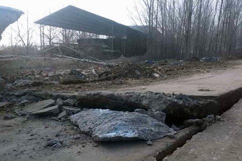 山东平邑石膏矿坍塌前村民反映异常 地下震动3月