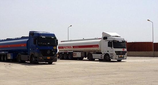 ISIS极端组织用于向土耳其运输原油的油罐车