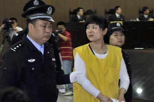 最高法未核准吴英死刑 发回浙江高院重审(图)
