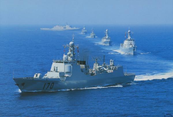 美军称可能挑战解放军南海实弹演习禁航区