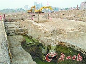 """""""宋元粮仓""""遗址变成了豪宅工地。"""