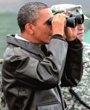 奥巴马在非军事区访问