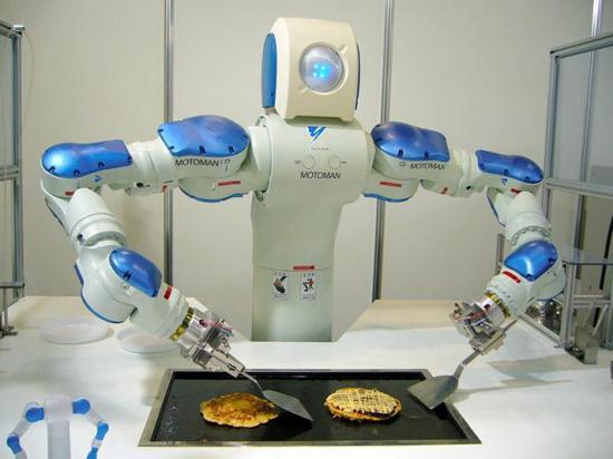 """日本一乐园将设""""机器人王国"""":能跳舞会做饭图片"""