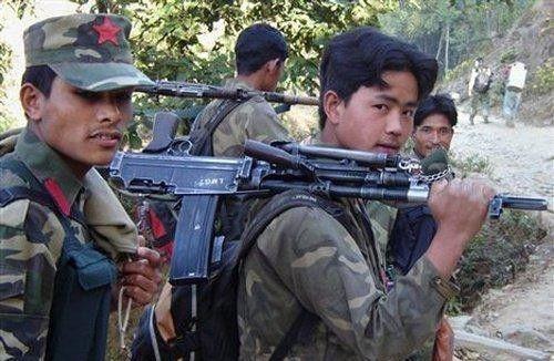 """尼泊尔""""毛派""""宣布将重新招募武装自行建军"""