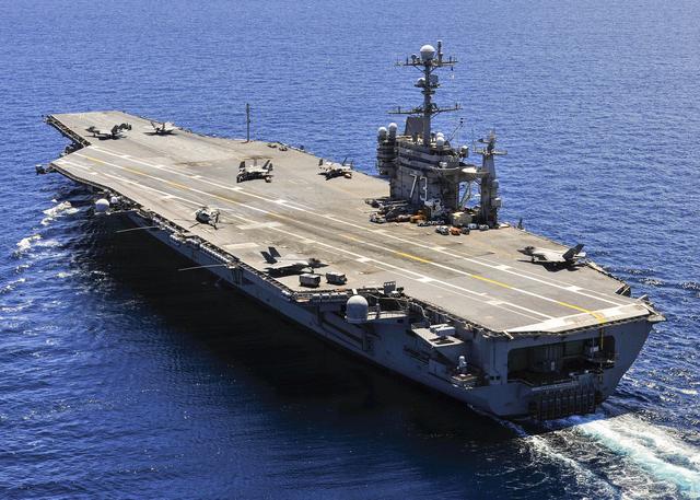 美重建超级海军需再花上千亿 新建2支航母战斗群