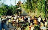 80年代老北京:紫禁城外菜市场