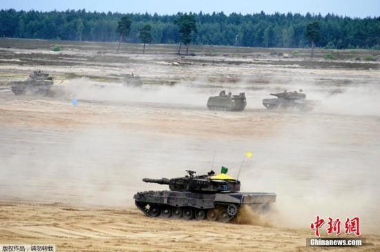 俄外交部:北约在乌克兰军演 反映其挑衅性方针