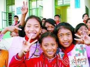 鹿寨县:撤点并校集中办学 让农村孩子读好书