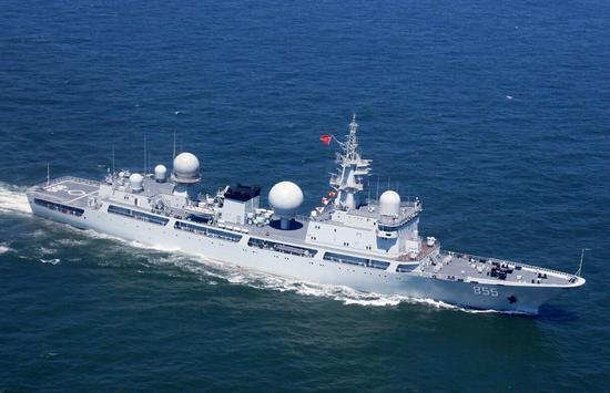 """美国:中国军舰进入日""""领海""""问题宜由中日解决"""
