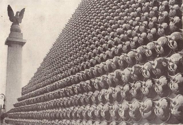 缴获德国武器堆积如山 如何处理让战胜国犯难