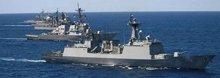 海军力量对比:1:100