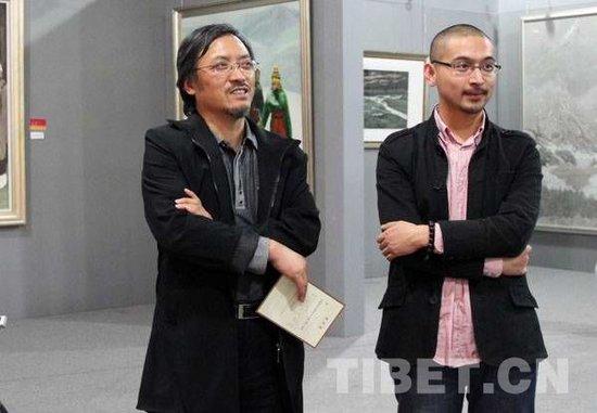 旅日画家:西藏文化需要走出国门