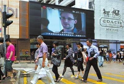 美国前副总统称应向中国施压要求交出斯诺登