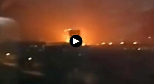 山西临猗一甲醇车间爆炸起火,官方称暂无人员伤亡正调查原因