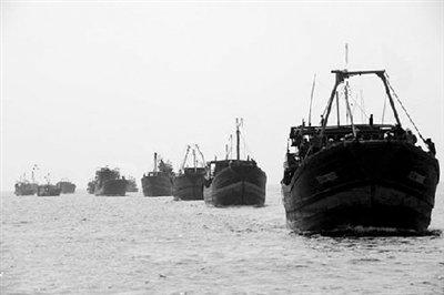 潭门镇渔船