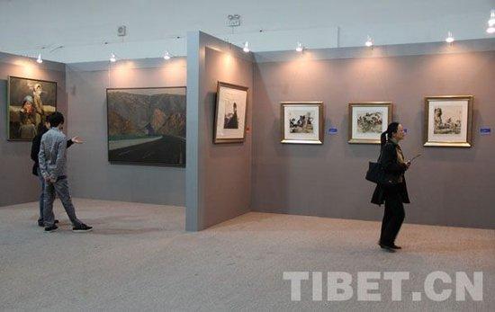 """观众寄语""""和美西藏"""":最美经幡与雪莲"""