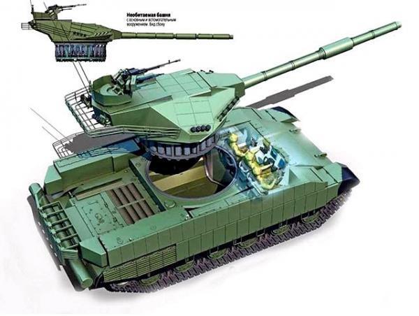乌克兰研新坦克号称挑战俄军阿玛塔 真相令人笑喷
