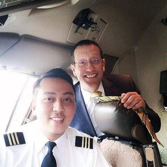马航失联客机副机长FARIQ(左)资料图