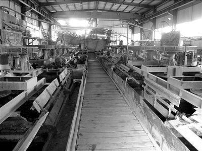 通宇公司厂房内部。