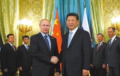 习近平抵达俄罗斯会见普京 双方两年内见面11次