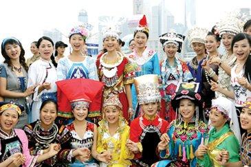 上海少数民族达27.56万人