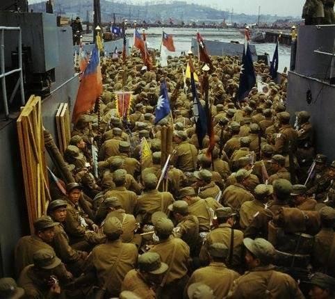 1954年14000名志愿军战俘去台湾的真相