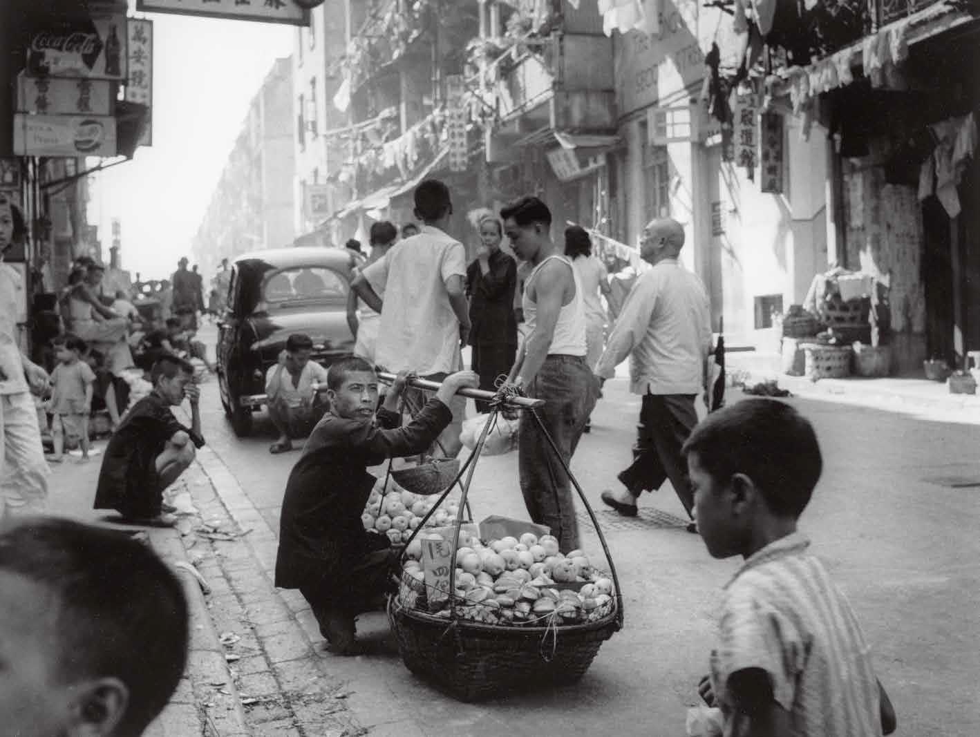 1950年,小贩。