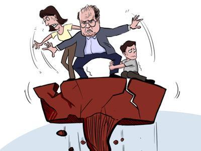 盘点家族腐败案件:官员扮红脸 妻儿收黑钱