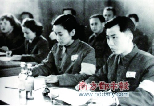 朝鲜战争停战后 在 中立国监察委员会工作时的过家鼎.