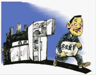 两赌徒偷盗冬虫夏草 警方辗转沪京晋将其捕获