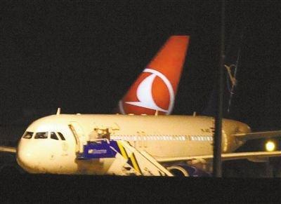 俄媒:土耳其迫降叙利亚客机上运载雷达零件