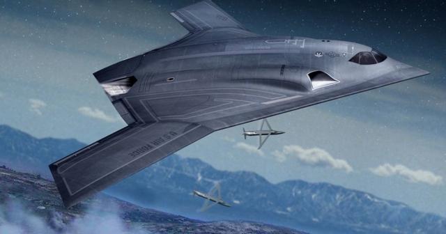 美要造百架隐身轰炸机威慑中国 隐身性或超越B2