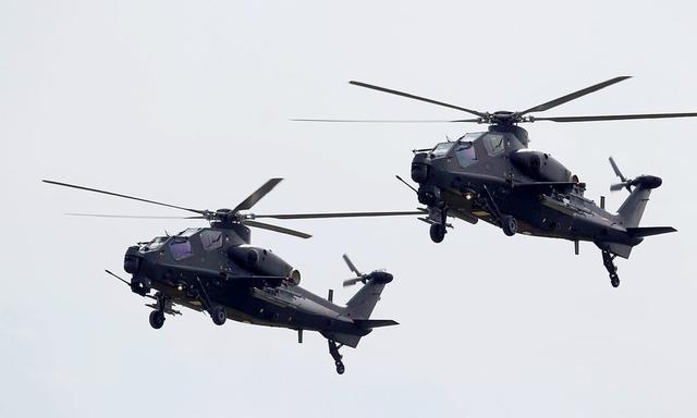 中国武直10亮相巴基斯坦军演 印度军方对此深感不安