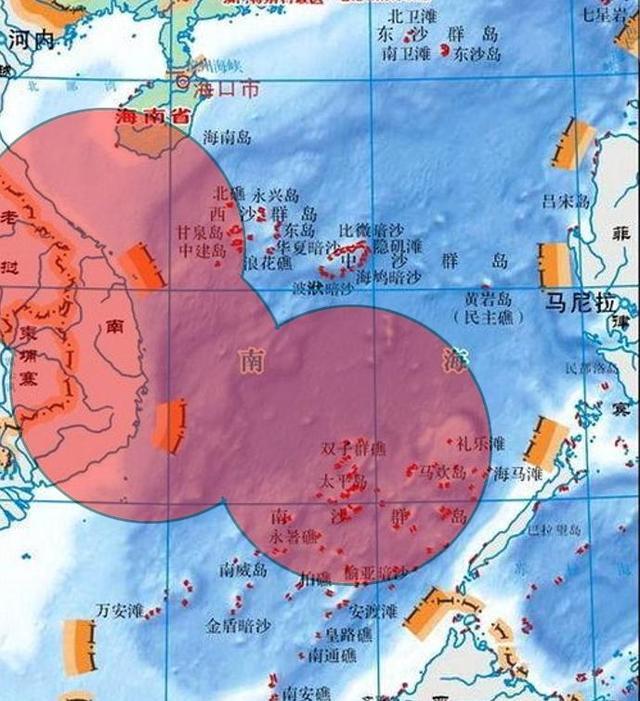 越南对南海主权地图_西南石油大学图书馆_越南南海石油收入