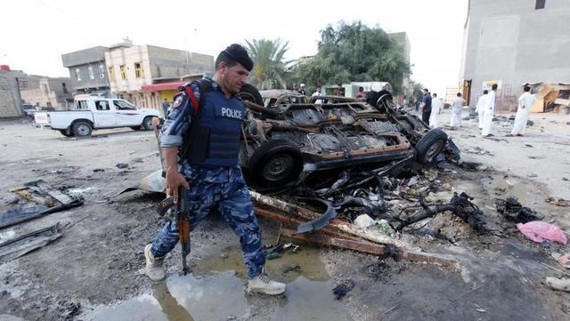 伊拉克一城市发生自杀式炸弹袭击 死伤多人