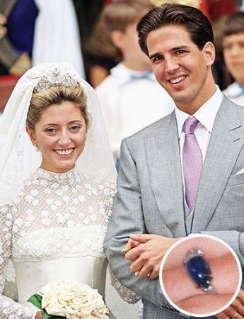 盘点世界各国王妃奢华订婚戒指