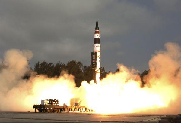 外媒:印度将试射能携带核弹头导弹 射程覆盖中国