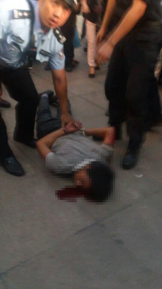 长沙火车站发生砍人事件 多人受伤