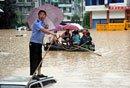 重庆突降今年最强暴雨