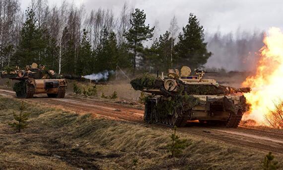 """当坦克遇上蘑菇 美军在波兰""""陷入了人民战争"""""""