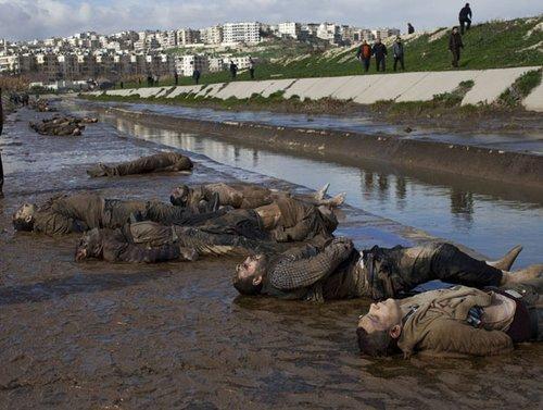 叙利亚发现百余具疑遭枪决尸体 联合国特使深表失望[1]